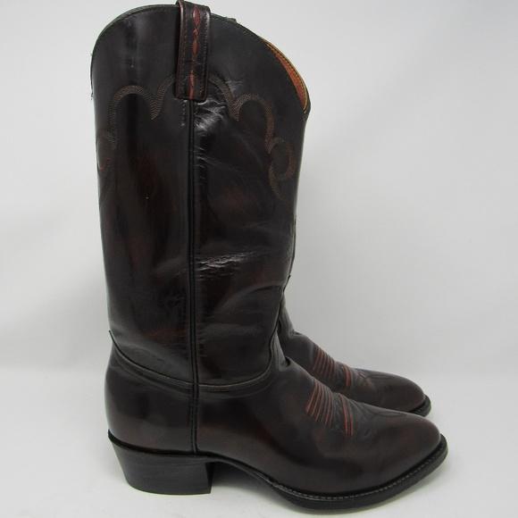 28130f1da74 🇺🇸 J Chisholm cowboy boots men sz 9.5D
